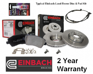 KIT228E Einbach Disc & Pad Kit Range Rover L322